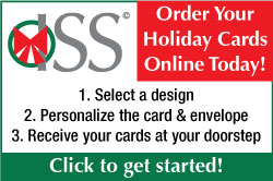 ISS Holiday Card Printing Services